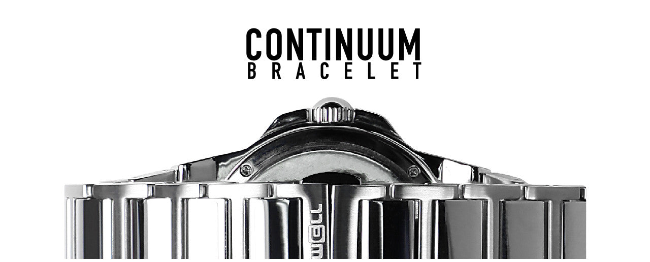 continuum bracelet on the commander watch