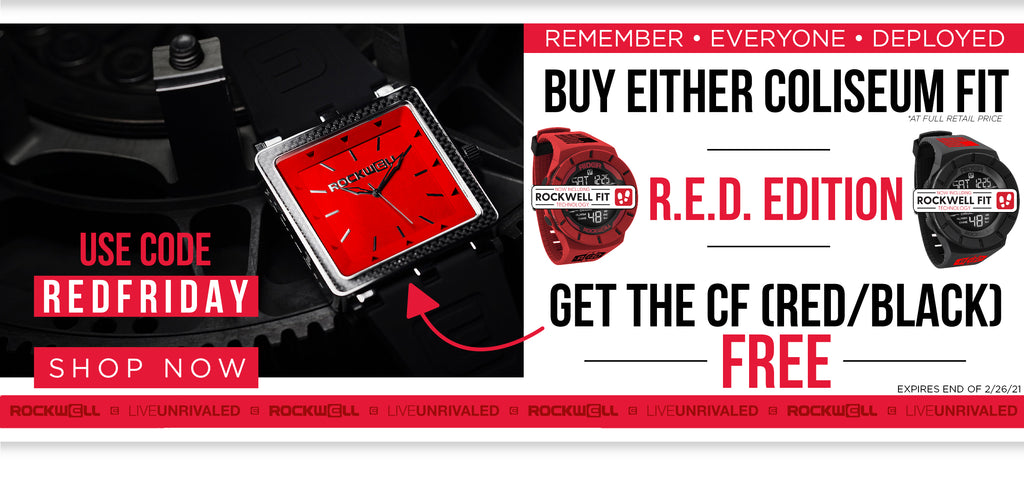 buy either R.E.D. edition coliseum fit get the cf red black free use code redfriday