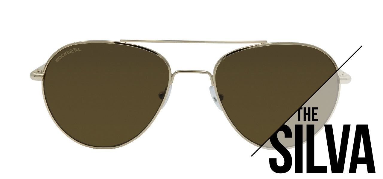 The Silva Metal Frame Sunglasses Collection