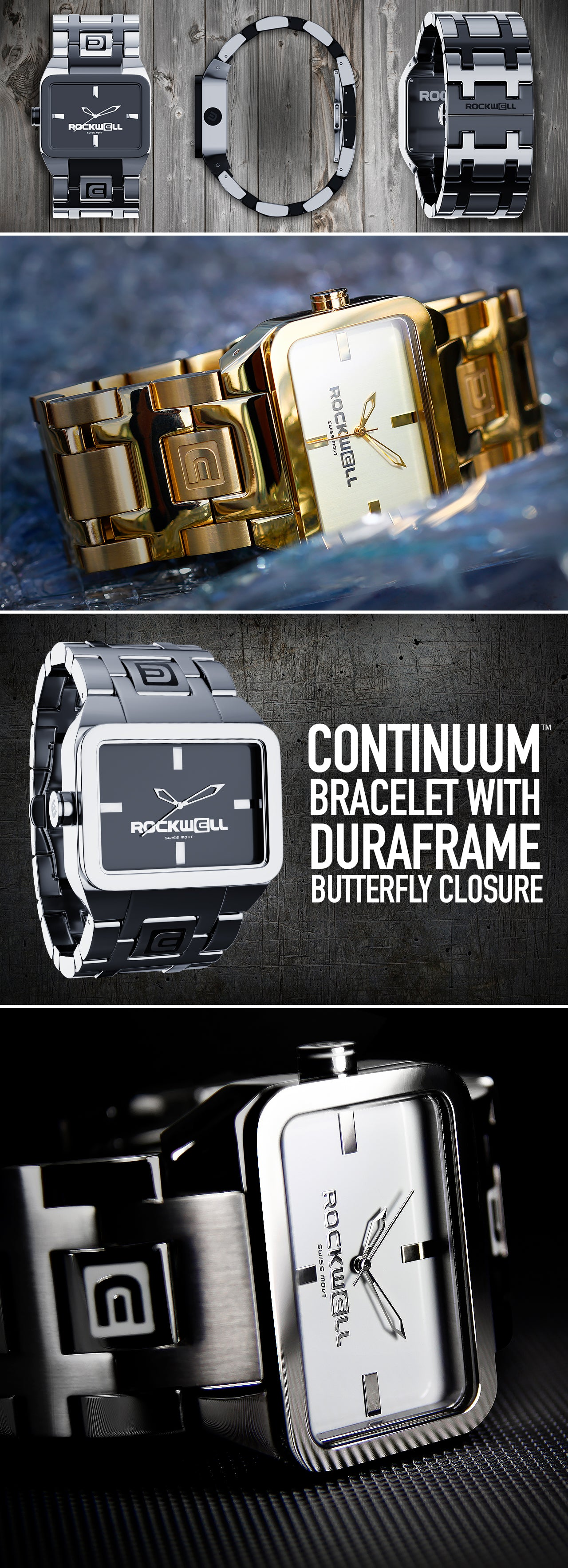 Details of the Duel Time Watch
