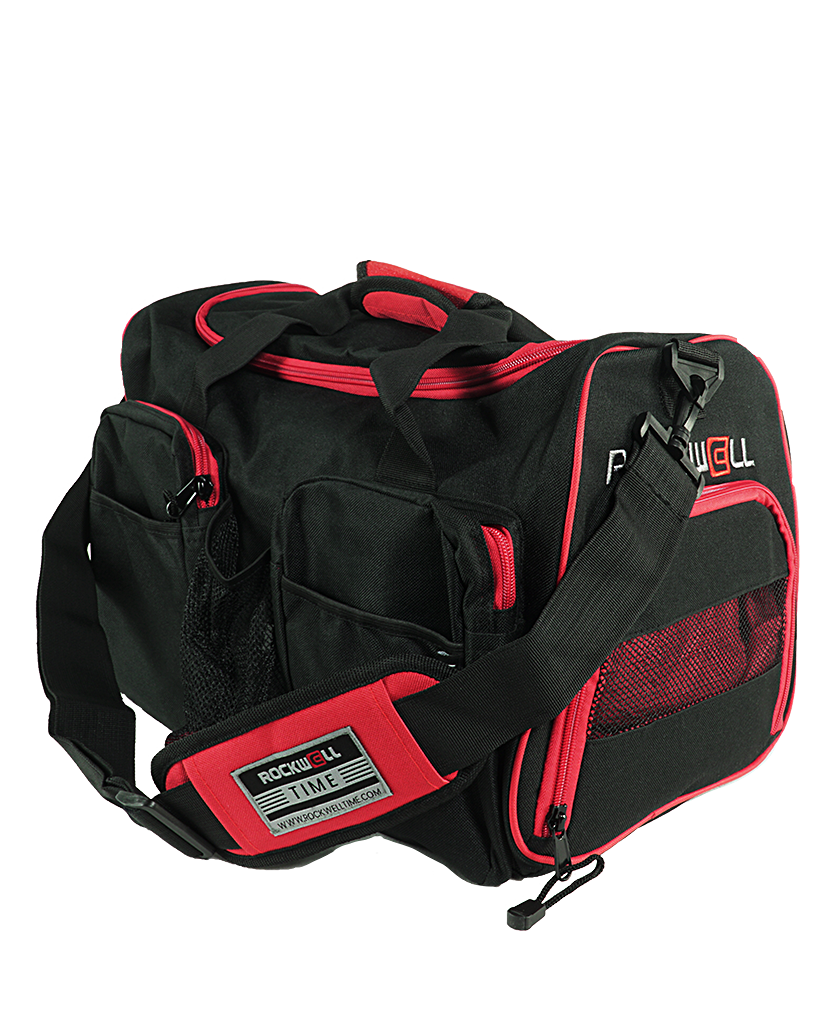 Rockwell Gym Duffle bag Black/Red