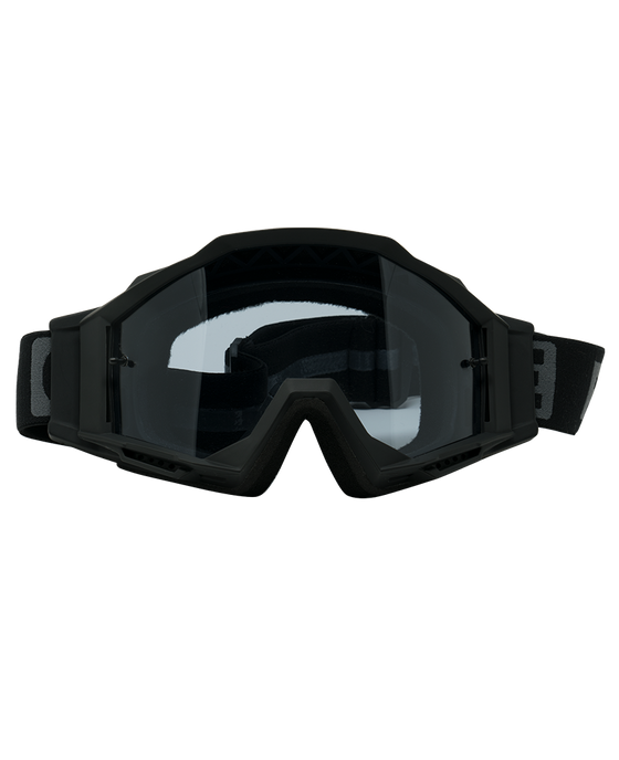 The Phenom - Black w/Clear Lens