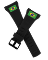 Coliseum Bands with Brazil Flag