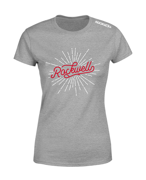 Women's Rockwell Burst T-Shirt - Gray