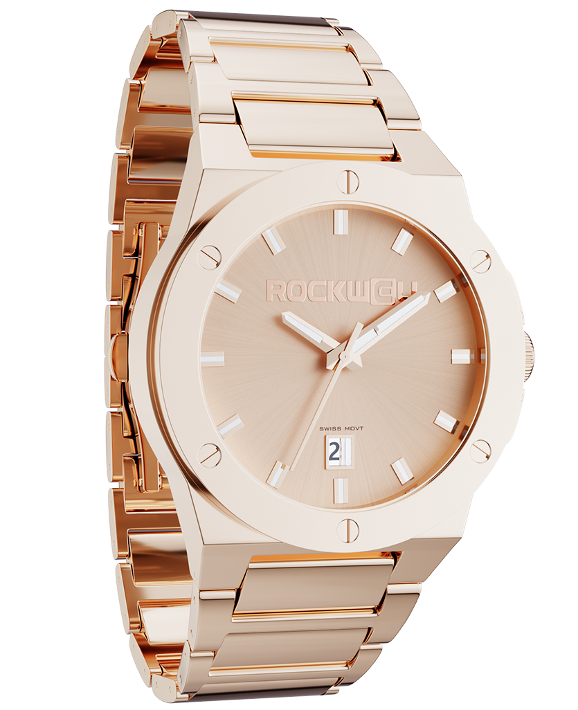 Commander (Rose Gold - Watch)