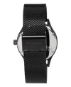 Chaplain Black Dial with Black mesh band - Watch)