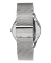 Chaplain Silver/White Dial with Silver Mesh band - Watch