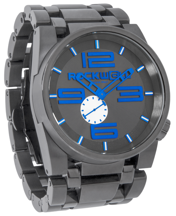 50mm Gunmetal Blue Watch
