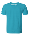 Men's Globe T-Shirt Ocean Blue
