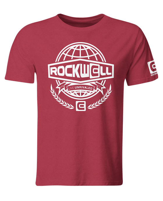 Men's Globe T-Shirt Red