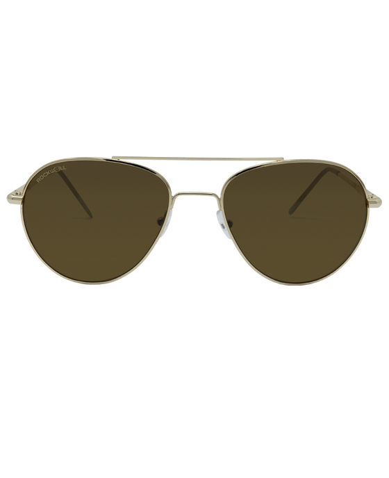 Silva - Gold with Brown Lens