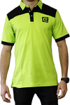 Rockwell Tri-Blend Polo - Green/Black