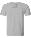 The Q Skull Gray Shirt Back