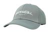 Grey Rockwell Golf hat with Houndstooth