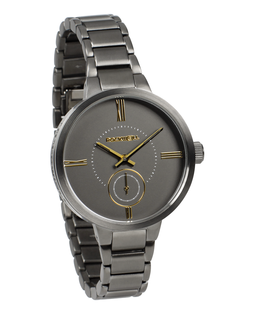 Kennedy (Gunmetal/Gold - Watch)