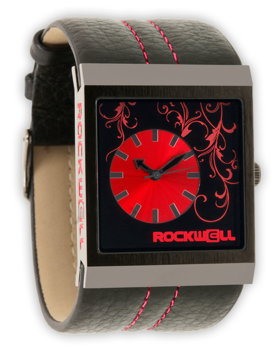 Mercedes (Black/Red - Watch)