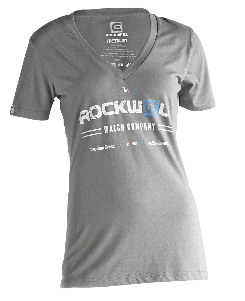 Women's Watch Co V-Neck Grey