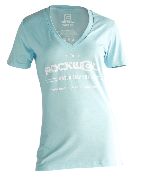 Women's Watch Co V-Neck Turquoise