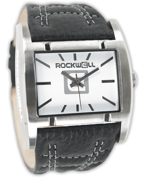 Apostle (White/Black Leather - Watch)