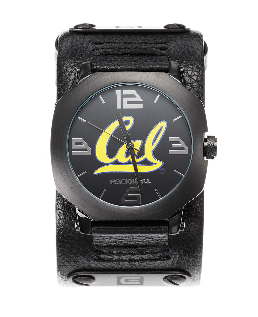 Cal Assassin Phantom black leather and Cal Printed dial.