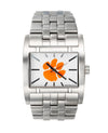 Clemson Apostle Silver band with Clemson Printed dial watch