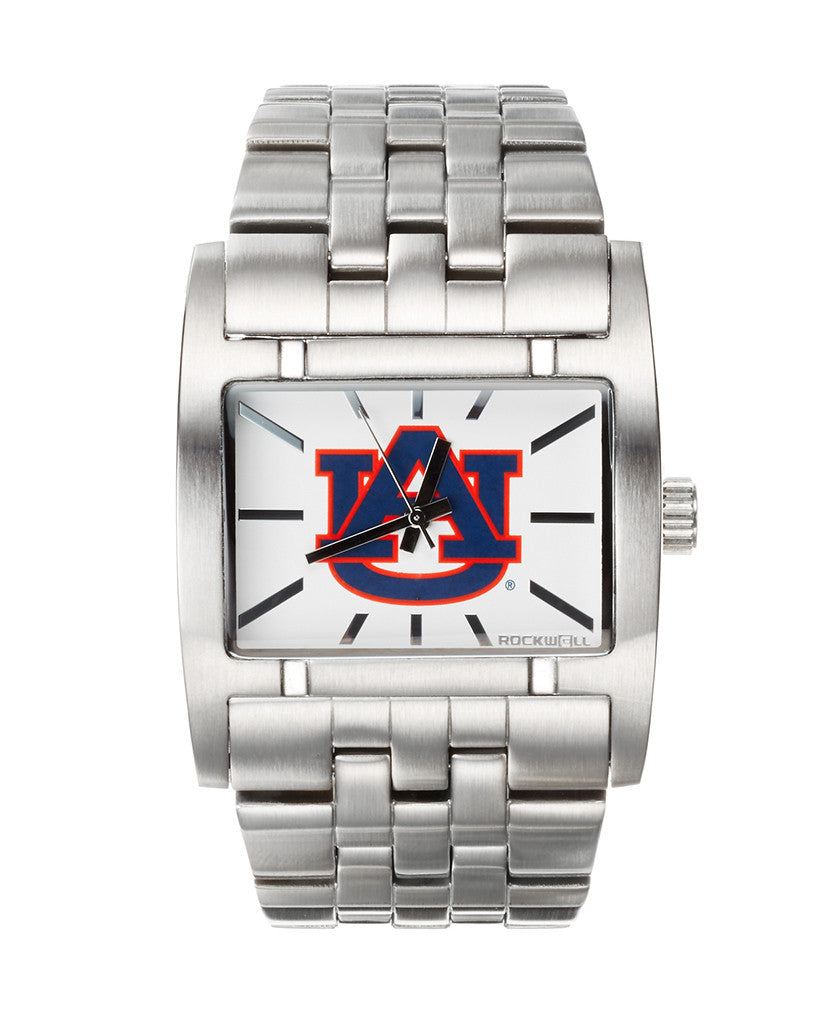 Auburn Apostle Silver with White Dial