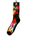 Red Camo Pattern Rockwell Crew Socks