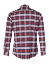 Red White plaid Titan Dress shirt  Edit alt text