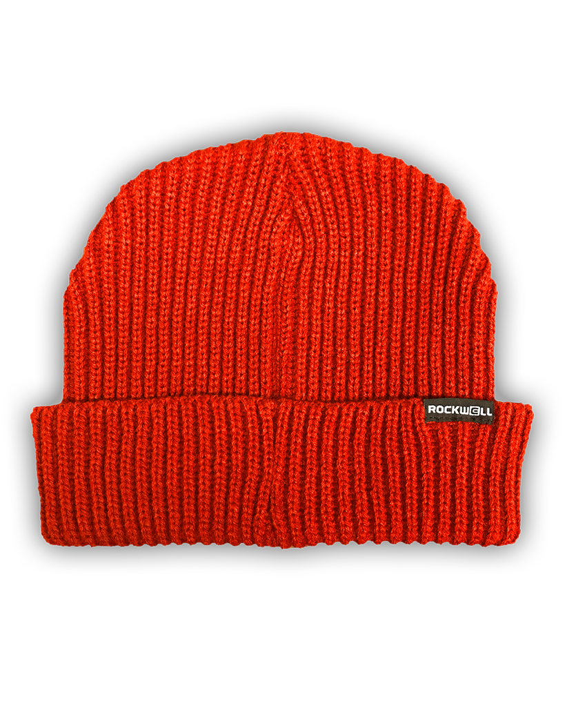 Rockwell Omni-Fit Beanie - Burnt Orange