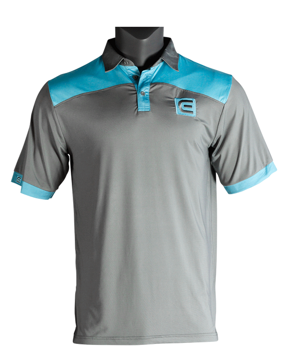 Rockwell Poly-Blend Polo - Gray/Shark