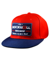 Snapback Freedom Hat Watch Co Red/Navy