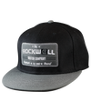 Snapback Hat Watch Co Black/Gray
