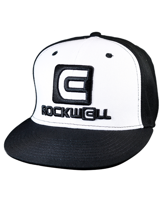 Snapback Hat OG White/Black