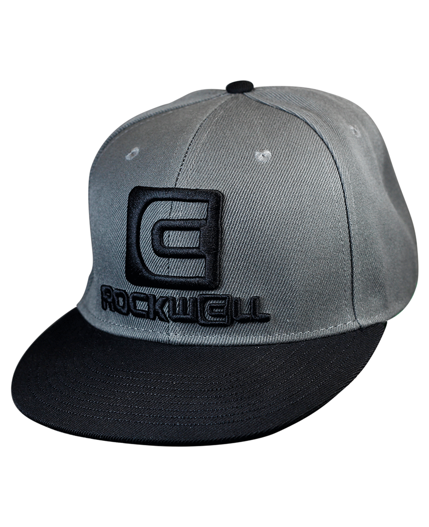 Snapback Hat OG Gray/Black - Rockwell Time