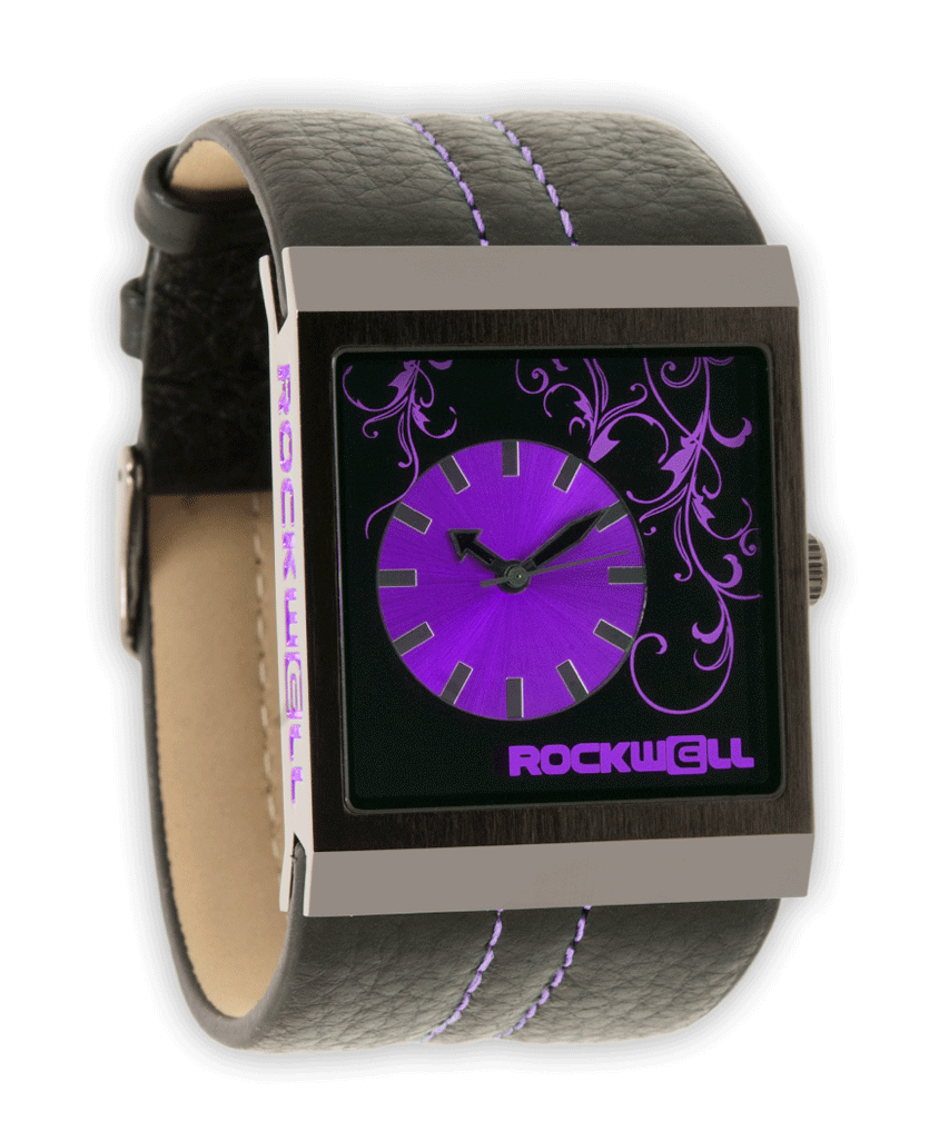 Mercedes Black/Purple - Watch