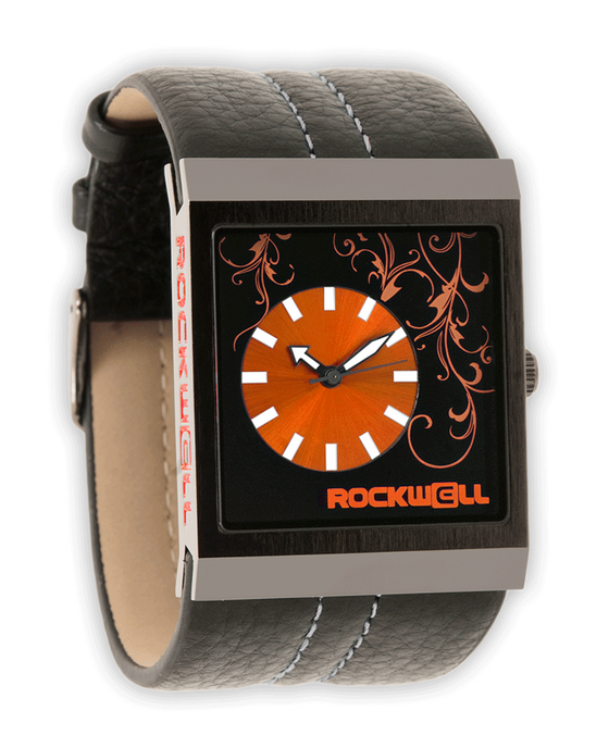 Mercedes (Gunmetal/Orange - Watch)