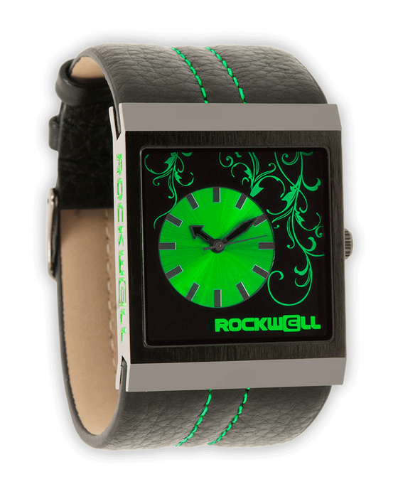 Mercedes Black/Green - Watch