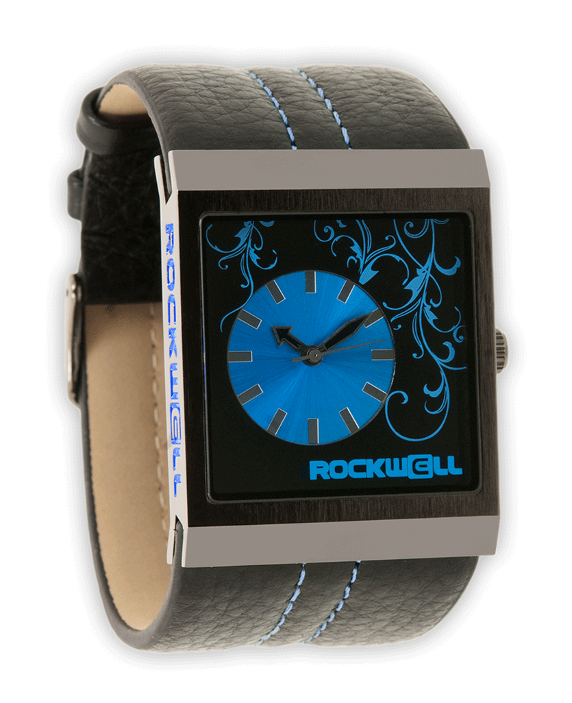 Mercedes (Black/Blue - Watch)