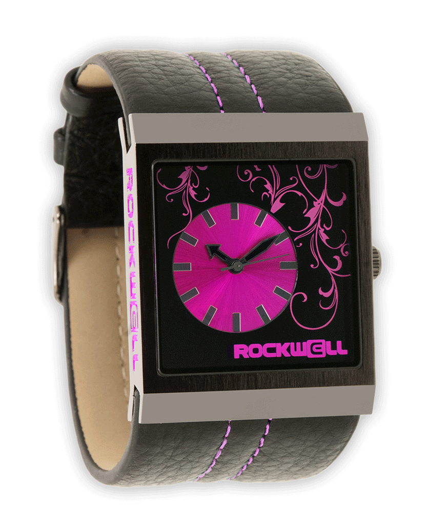Mercedes Black/Pink - Watch