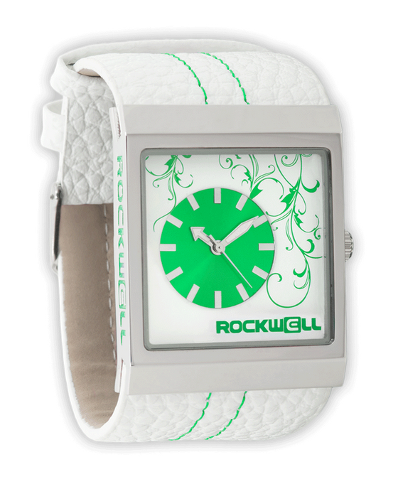 Mercedes White/Green - Watch