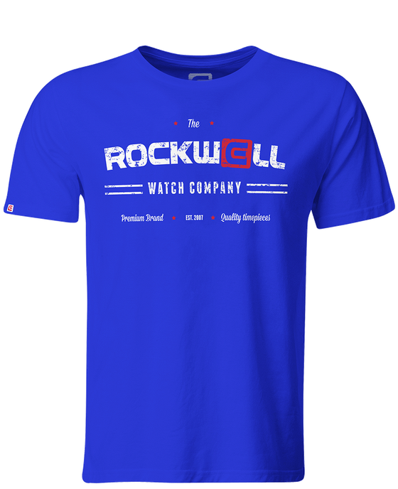Men's Watch Co T-Shirt Royal