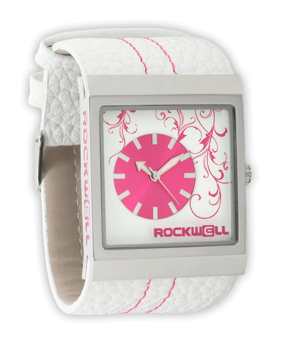 Mercedes White/Pink - Watch