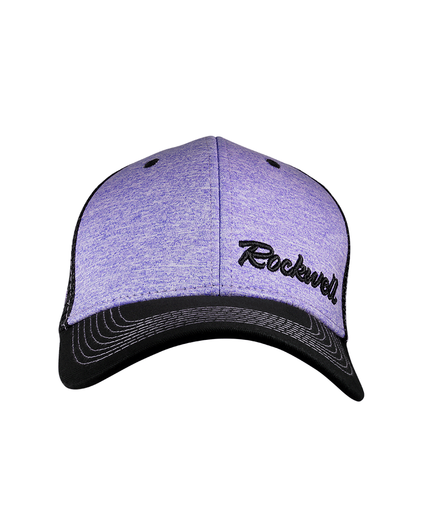 Snapback Baseball Heather Purple hat