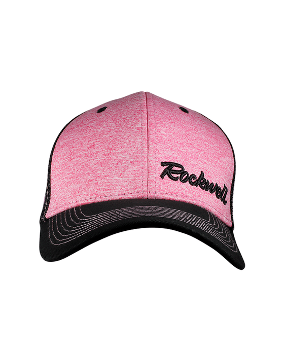 Snapback Baseball Heather Pink Hat