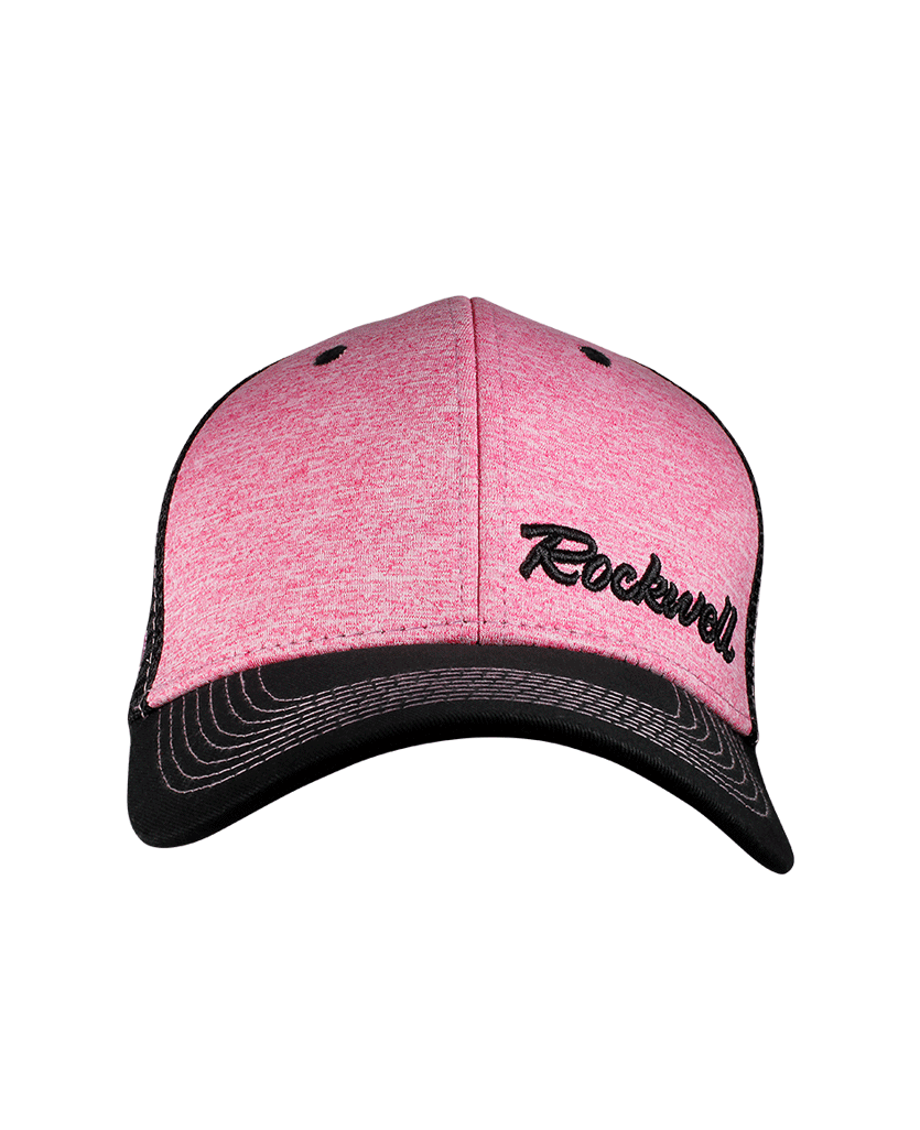 Snapback Baseball Pink Heather