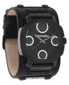 Assassin Phantom Black with Black Leather Band