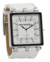 CF White dial with White Leather - Square Watch