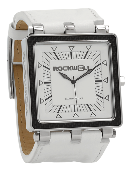 CF (White/White Leather - Watch)