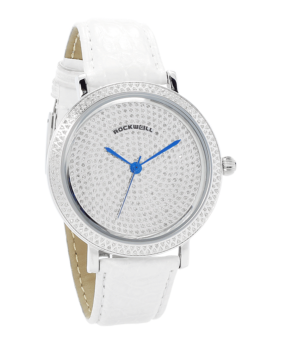 The Rivers - White band with Diamond bezel and dial - Watch