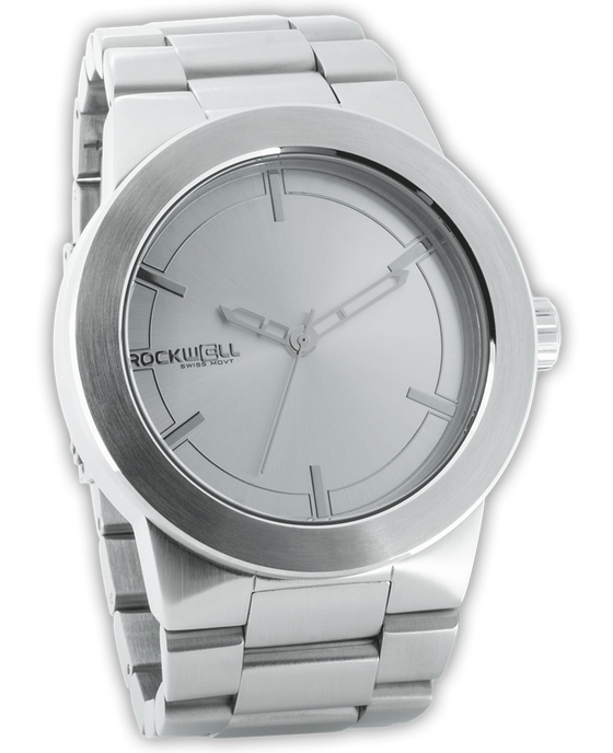 Silver Maverick Watch